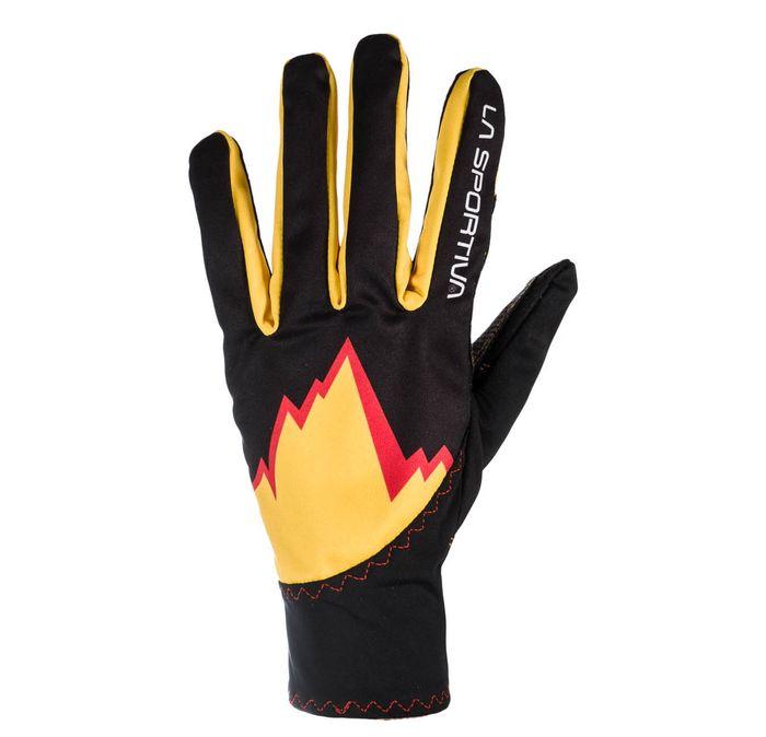 Syborg Gloves S Black/Yellow