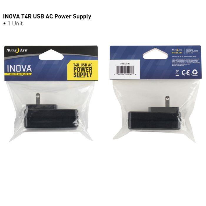 INOVA® T4R® USB AC Power Supply