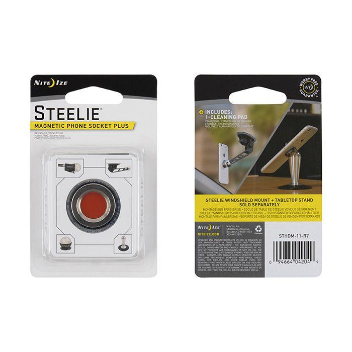 Steelie® Magnetic Phone Socket Plus