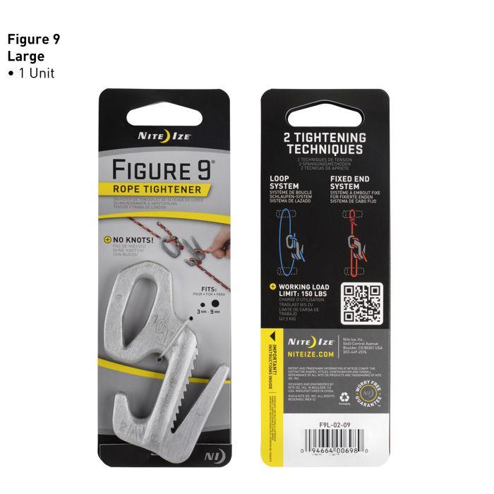 Figure 9® Rope Tightener - Large - Aluminum