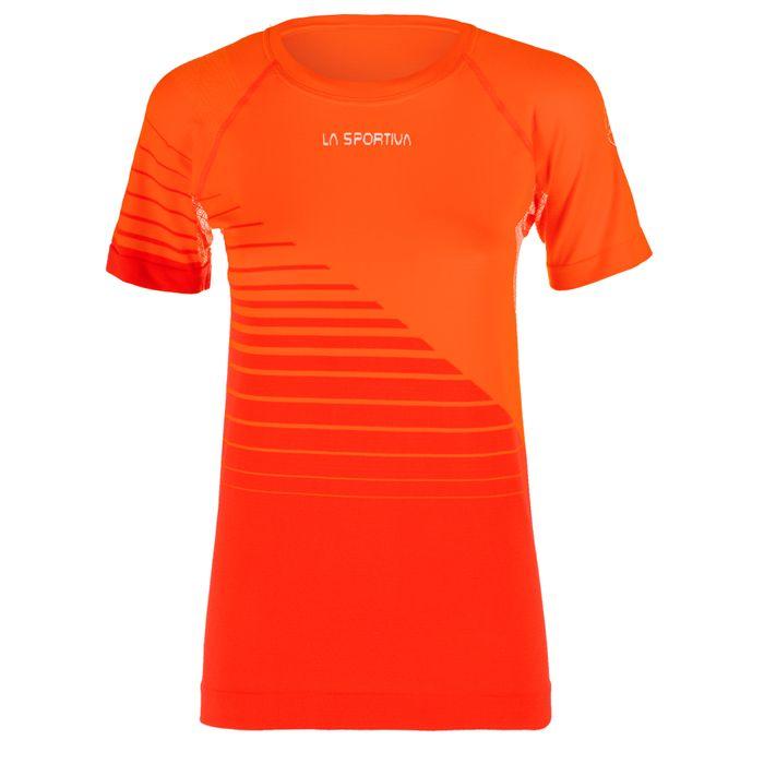 Escape T-Shirt W Pumpkin/Garne