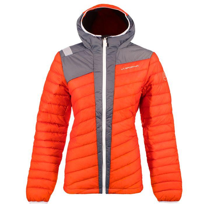 W's Frontier Down Jacket Pumpkin/Slate