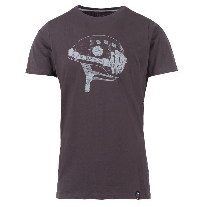 Helmet T-Shirt M Carbon