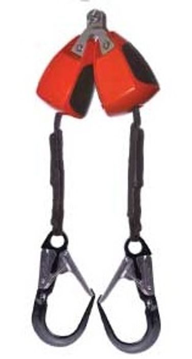 Dual 3m fitted alloy scaffold hook