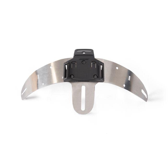 Helmet mount for Enduro singel, 1 lamp holder