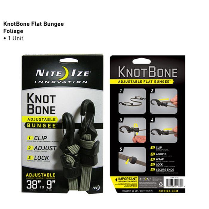KnotBone™ Adjustable Flat Bungee™ - Foliage