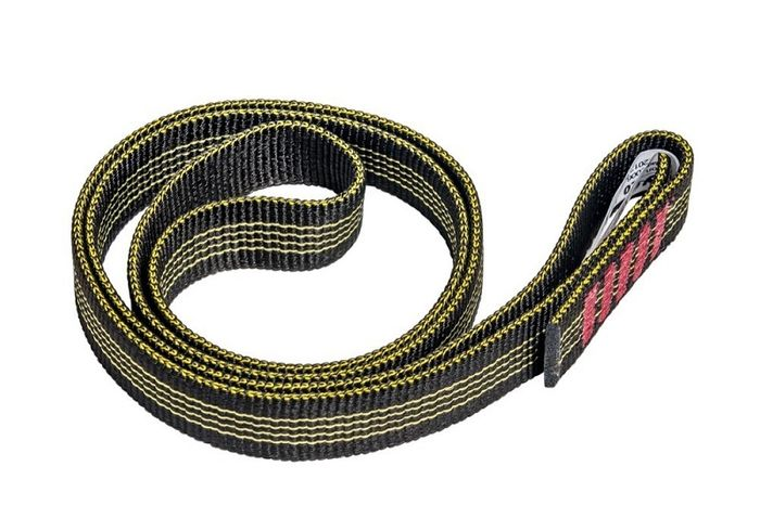 Nylon Sling  25mm  120cm  30kN  Svart / gul