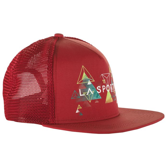 Trucker Hat Vertriangle Berry - L