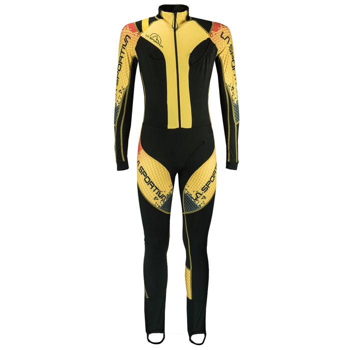Syborg Racing Suit Black/Yellow - L