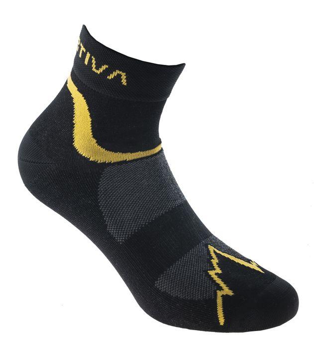 svarta/gula strumpor för löpning