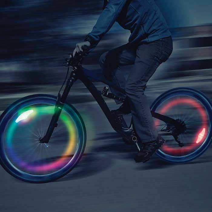 SpokeLit® LED Wheel Light - 2 Pack - Disc-O Select™