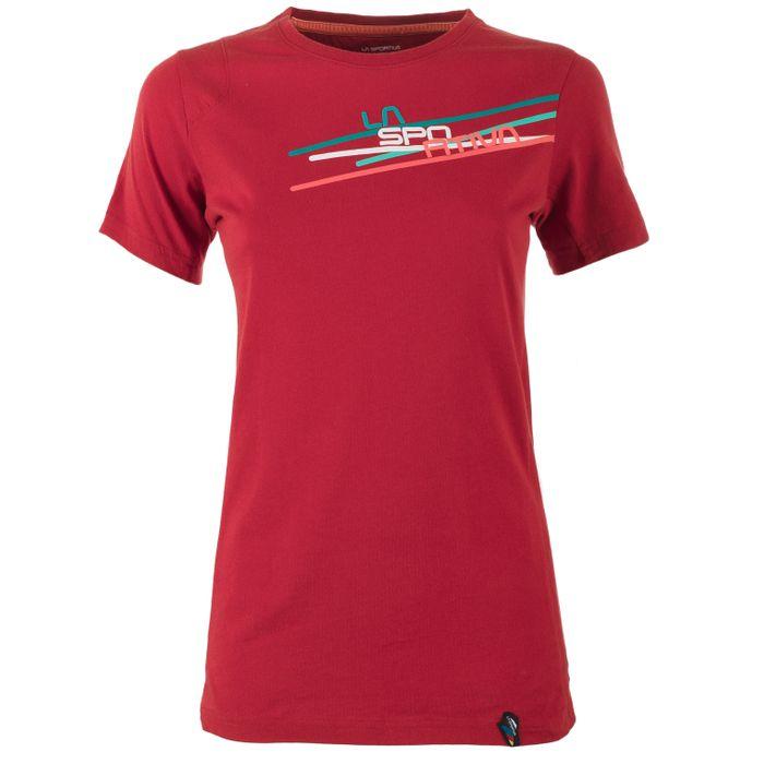 W's Stripe 2-0 Tshirt Berry - L