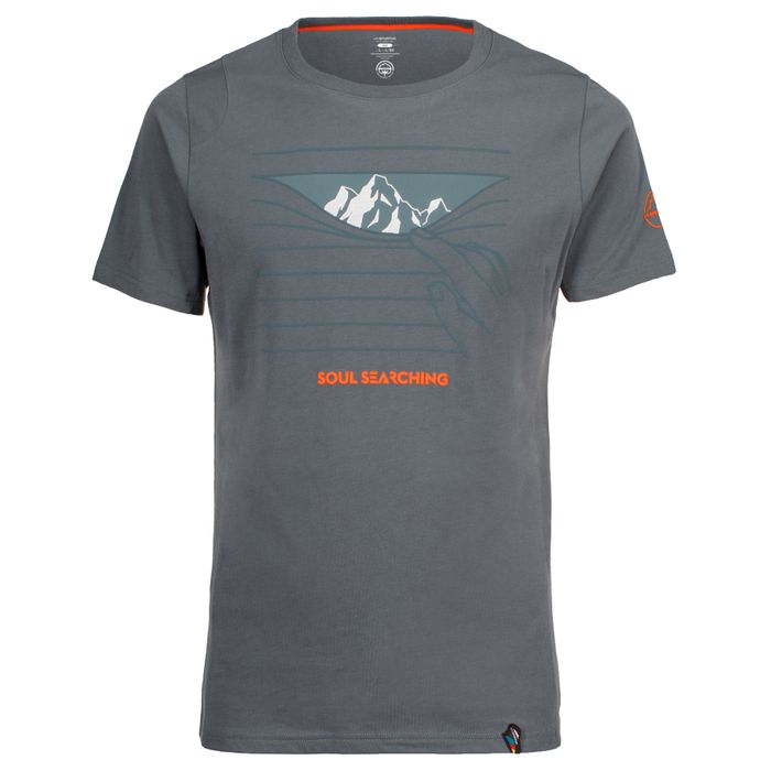 M's Soul Searching T-Shirt Slate - XXL