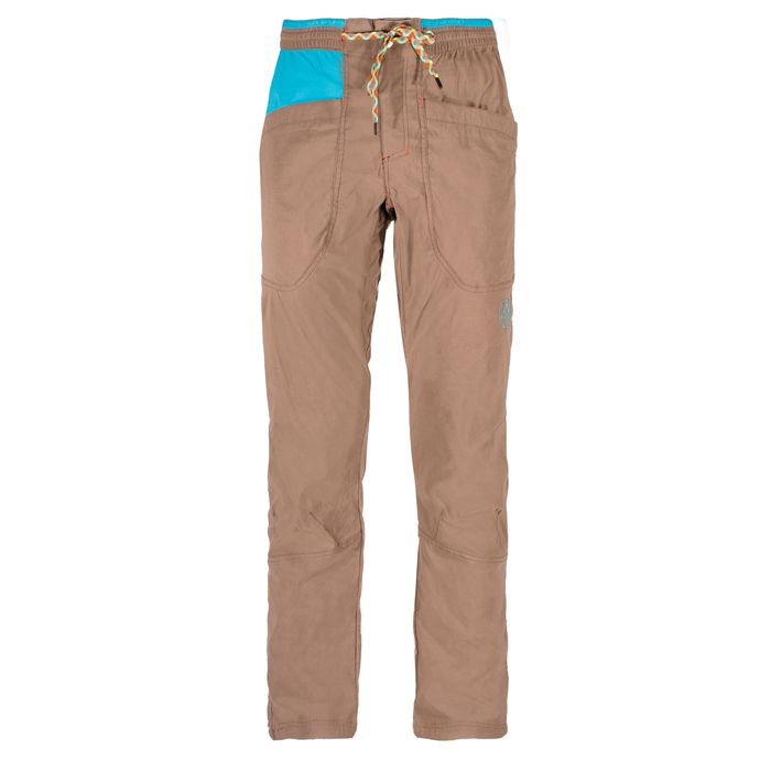 Talus Pant M  Falcon Brown/Tropic Blue - L