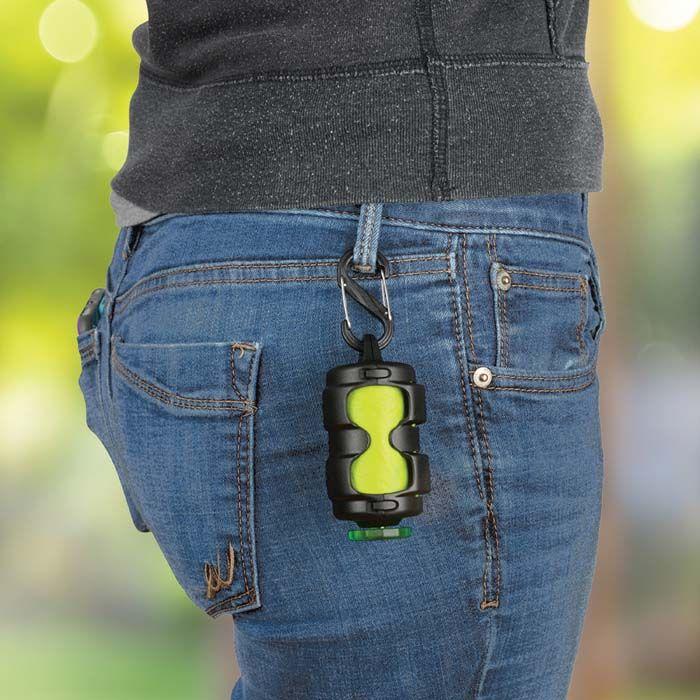 Pack-A-Poo® Bag Dispenser + Refill Roll