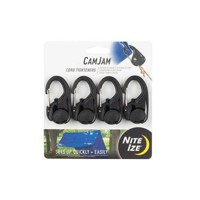 CamJam® Cord Tightener 4 Pack