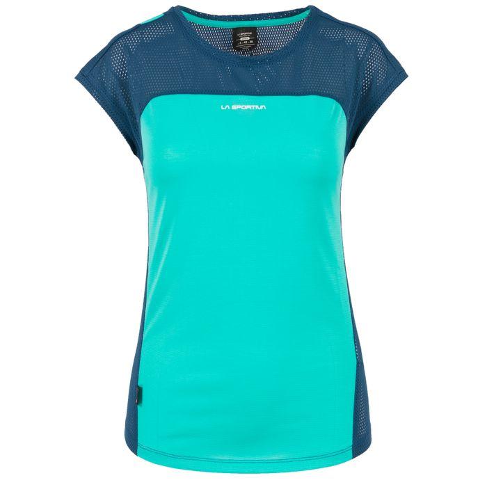 Traction T-Shirt W Aqua/Opal