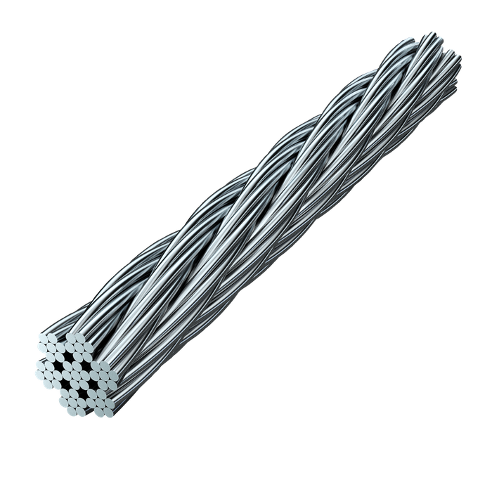 Skyline Cable 20 Rostrfritt stål