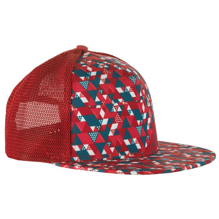Trucker Hat Vertric Brick/Lake - S