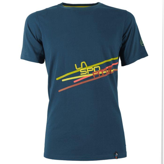 Stripe 2,0 Tshirt M (Carbon/Citronelle)