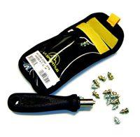 A.T.Grip Spike 18 ståldubbar med nyckel