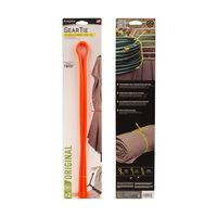 Gear Tie 32-Bright Orange 2pk