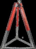 JACKPOD TRI 1 - Tripod mobile anchor Triboc (Height 1220-2260mm) 1 pul