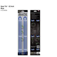 Gear Tie 32-Blue 2pk