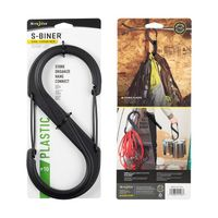 S-Biner Plast Size #10 - Black