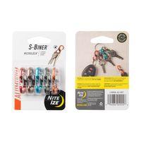S-Biner® MicroLock® Aluminum - 5 Pack - Assorted