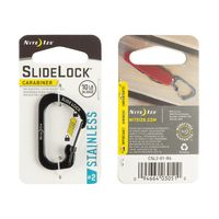 SlideLock® Carabiner #2 - Black