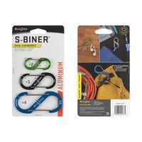 S-Biner® Dual Carabiner Aluminum - 3 Pack