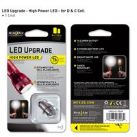 High Power LED Upgrade fits C or D Cell Flashlights