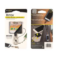 Hitch™ - Phone Anchor + MicroLock - Stainless MicroLock