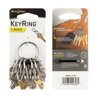 KeyRing Steel - S-Biner - Stainless