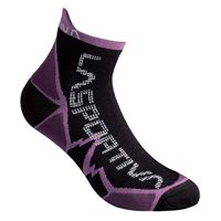 Long Distance Socks Black/Plum - M
