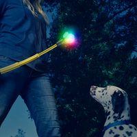 Huck 'N Tuck™ GlowStreak® Collapsible Thrower + LED Ball