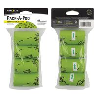 Pack-A-Poo® Compostable Refill Bags - 4 Pack
