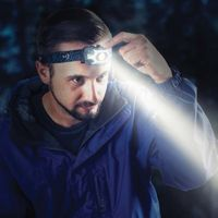 INOVA® STS™ PowerSwitch™ Dual Power Rechargeable Headlamp