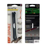 Gear Tie® Loopable Twist Tie 12 in. - 2 Pack - Black