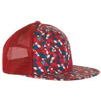 Trucker Hat Vertric Brick/Lake - L