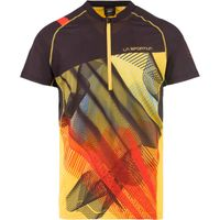 Xcelerator T-Shirt M Black/Yellow