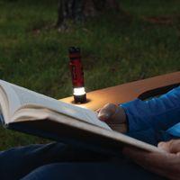 Radiant® 3-in-1™  LED Mini Flashlight - Red