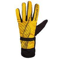 Winter Running Glove M Yellow/Black