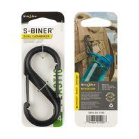S-Biner Plastic Size #4 - Blac