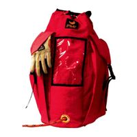 PMI Deluxe bag sidofickor röd
