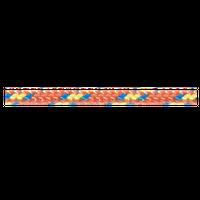 Repsnöre 3mm Orange Rulle 120 M