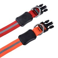 Nite Dawg® LED Dog Collar - Medium - Orange