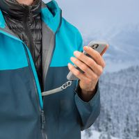 Hitch™ - Phone Anchor + Tether - Black Tether / Black MicroLock