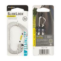 SlideLock® Carabiner #4 - Stainless